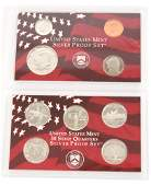 UNITED STATES MINT SILVER 1999 RED BOX PROOF SET