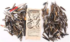 FOUNTAIN PEN & RELATED ITEMS - NIBS, CUFFLINKS & MORE