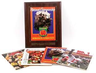1994 NATIONAL CHAMPIONSHIP FSU VS. NEBRASKA MEMORABILIA