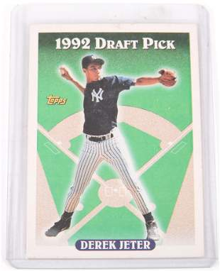 1993 TOPPS DEREK JETER DRAFT PICK BASEBALL CARD #98