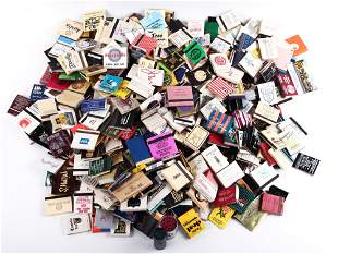 RESTAURANT AND HOTEL MATCHBOOKS - LOT OF 400+
