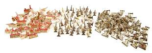 OIL FIELD, OIL DERRICK AND OKLAHOMA PINS - LOT OF 150