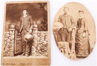 LATE 19TH CENTURY TEXAS CABINET CARDS