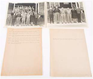WWII FLORIDA FIELD STATION CLERMONT PHOTOS - LOT OF 2
