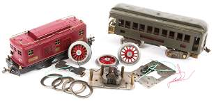 EARLY TO MID 20TH C. MODEL TRAINS FOR PARTS OR REPAIR