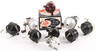 SPINCAST FISHING REELS - SHAKESPEARE, ZEBCO & MORE