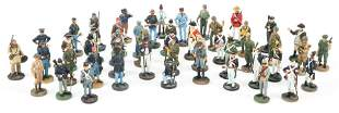 AMERICAN MILITARY HISTORICAL SOCIETY MINIATURE SOLDIERS