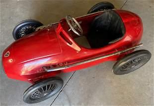 ALFA ROMEO PEDAL CAR - MODELED AFTER 158 ALFETTA