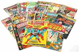 DC & MARVEL SUPERHERO COMIC BOOKS