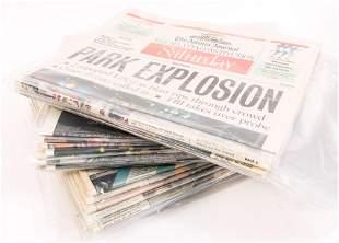 JUN 9 - AUG 6, 1996 ATLANTA JOURNAL OLYMPICS NEWSPAPERS