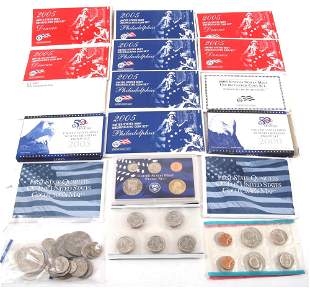 UNITED STATES PROOF & MINT COIN SET COLLECTION