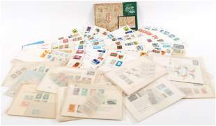 UNITED NATIONS COVERS, STAMPS AND STATIONERY