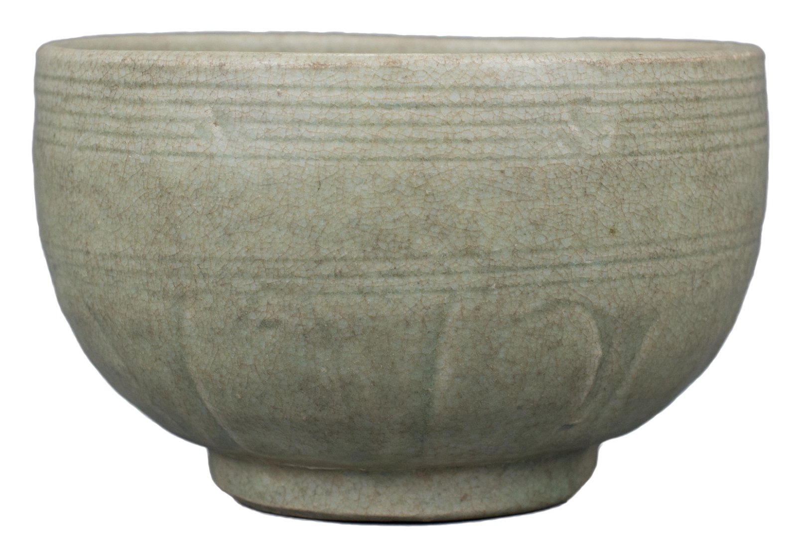 A Chinese Longquan Celadon Porcelain Alms Bowl – Song