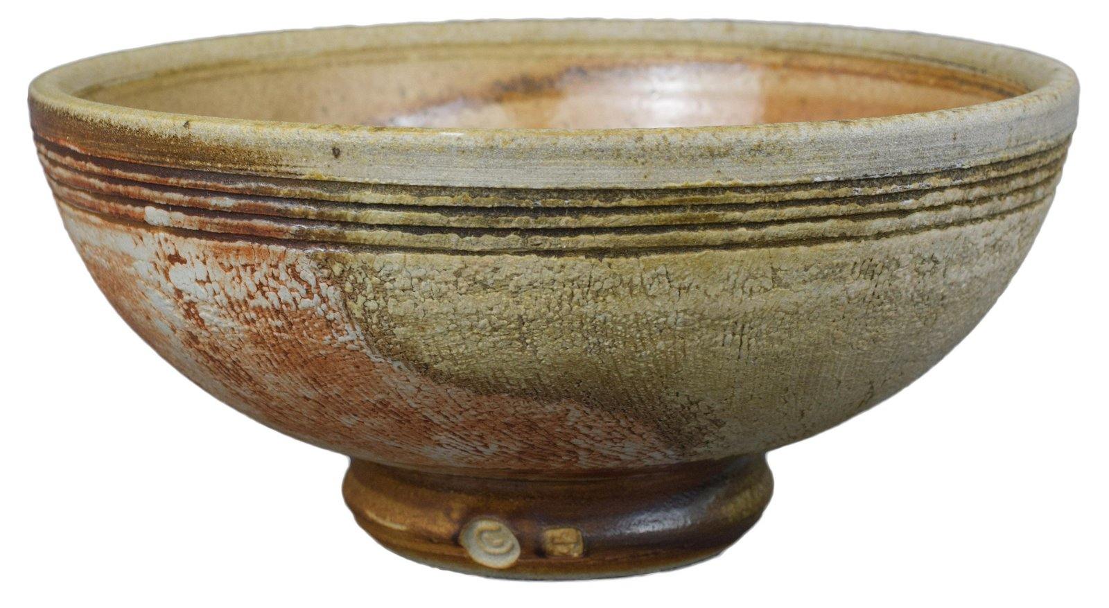A Large English Studio Pottery Bowl – Chris Lewis