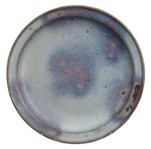 CHINESE JUNYAO PURPLE SPLASHED DISH, SONG DYNASTY