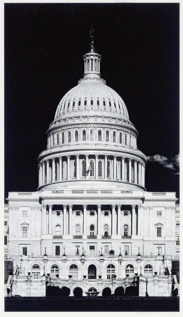 Robert Longo (American b.1953), 'Untitled (Capitol