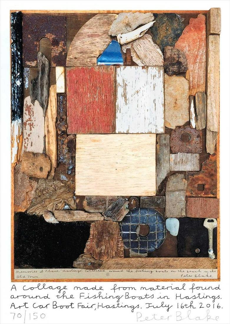Peter Blake (British b.1932), 'Hastings Collage', 2016