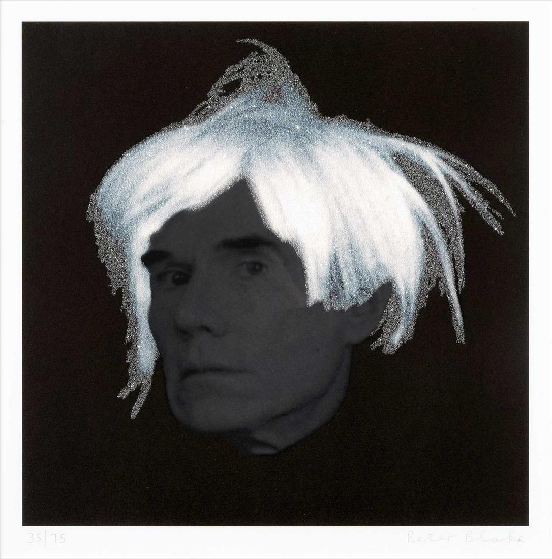 Peter Blake (British b.1932), 'Andy Warhol', 2010