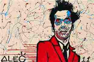 Alec Monopoly (American 1986-), 'Jack Nicholson', 2011