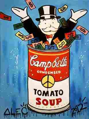 Alec Monopoly (American 1986-), 'Campbells Soup', 2012