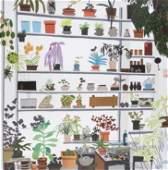 Jonas Wood (American b.1977), 'Large Shelf Still Life