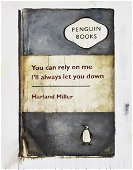 Harland Miller (British 1964-), 'You Can Rely On Me,