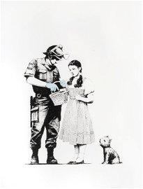 Banksy (British 1974-), 'Stop & Search', 2007