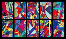 Kaws (American 1974-), 'Tension', 2019