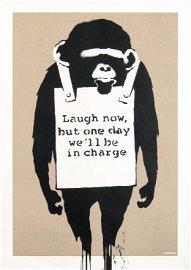 Banksy (British 1974-), \