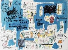 Jean-Michel Basquiat (American 1960-1988), 'Ascent