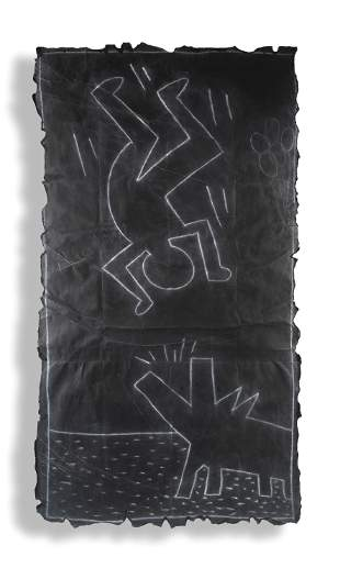 Keith Haring (American 1958-1990), 'Untitled (Subway