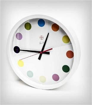 Damien Hirst (British 1965-), 'Spot Clock Large', 2009