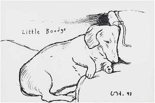 David Hockney (British 1937-), 'Little Boodge' 1993