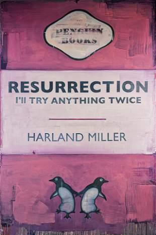 Harland Miller (British 1964-), 'Resurrection, I'll Try