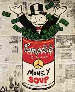 Alec Monopoly (American 1986-), 'Money Soup', 2017