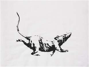 Banksy (British 1974-), 'GDP Rat', 2019