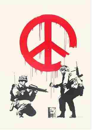 Banksy (British 1974-), 'CND Soldiers', 2005
