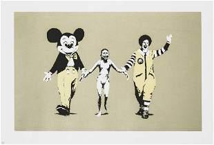 Banksy (British 1974-), 'Napalm', 2004