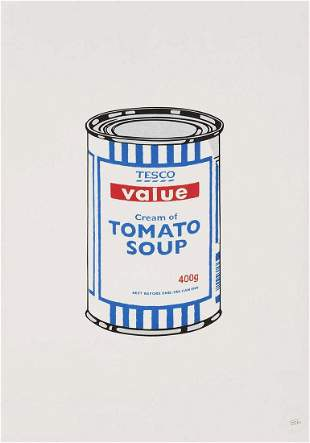 Banksy (British 1974-), 'Soup Can', 2005