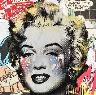 Mr Brainwash (French 1966-), 'Marilyn Monroe', 2016