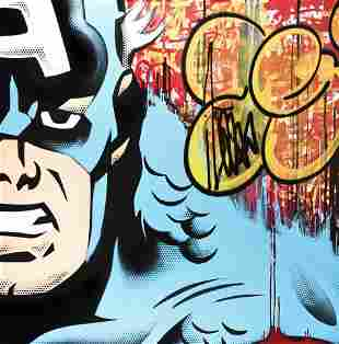 Seen (American 1961-), 'Captain America', 2012