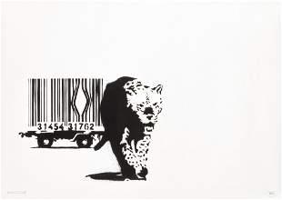 Banksy (British 1974-), 'Barcode', 2003