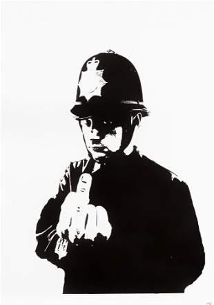 Banksy (British 1974-), 'Rude Copper', 2002