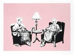 Banksy (British 1974-), 'Grannies', 2006