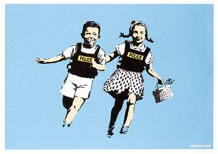 Banksy (British 1974-), 'Jack & Jill', 2005