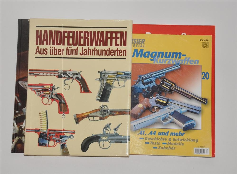 Compilation of four books firearms
