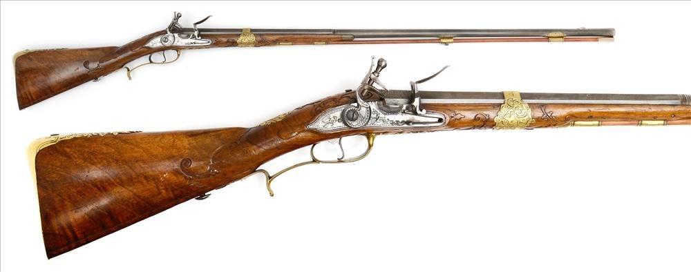 Flintlock musket, Salzburg and Vienna 18th century