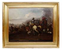 Cavalry skirmish during the 30 Years War - Jacques