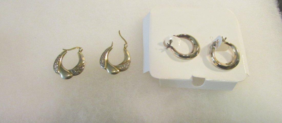 Sterling Silver Jewelry Lot Bracelet Earrings etc