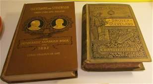 1884  1892 Books Cleveland  Stevenson 1st Edit